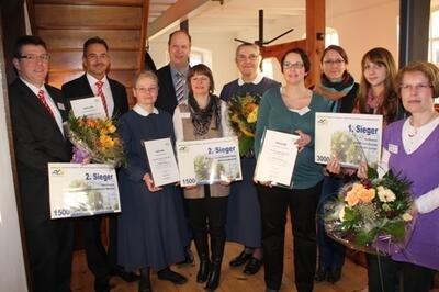 Orthomol, die Sparkasse HRV und das Diakonissen-Mutterhaus Bleibergquelle siegten im Wettbewerb