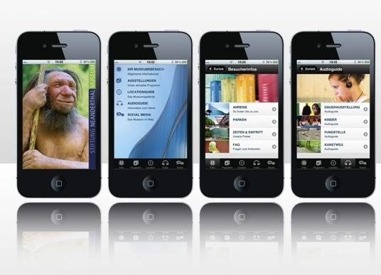 Infos rund ums Neanderthal Museum und das Tal sind nun über die neue App erhältlich