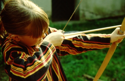 Bogenbauworkshop für Kinder